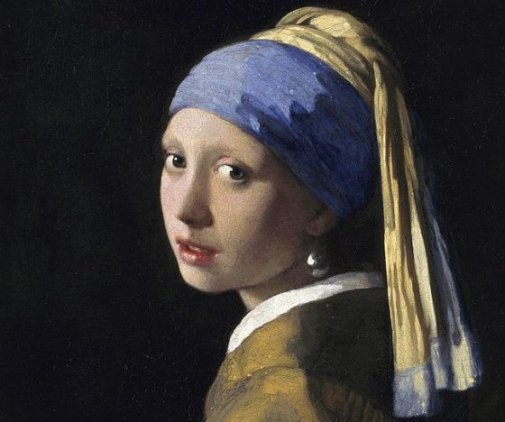 Girl with a Earring