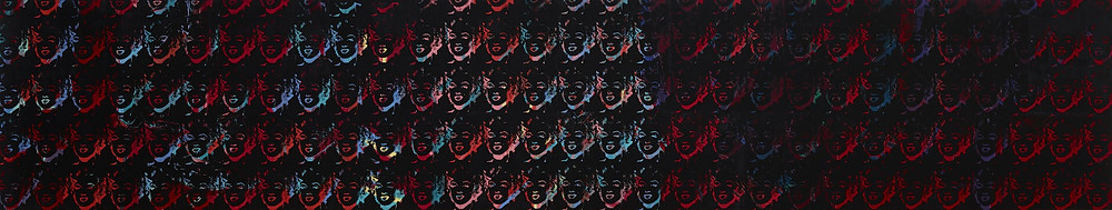 One Hundred and Fifty Multicoloured Marilyns by Andy Warhol