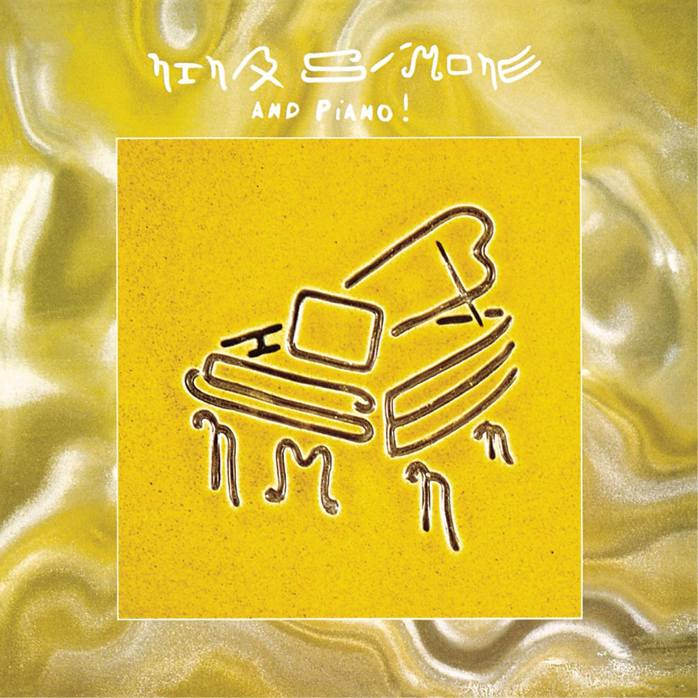 Nina Simone and Piano Album Cover