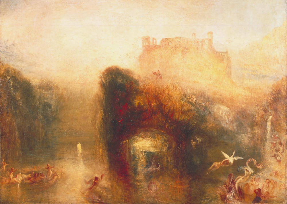 'Queen Mab's Cave', Joseph Mallord William Turner