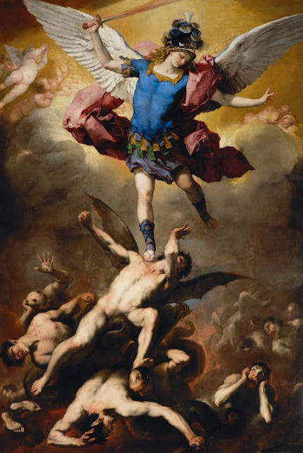 The Fall of the Rebel Angels - Luca Giordano