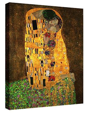 The Kiss by Gustav Klimt - 23 x 30 canvas print