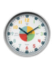 Telling Time Teaching Clock Visual Learning Tool