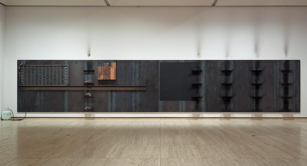 Untitled 1984/87 byJannis Kounellis