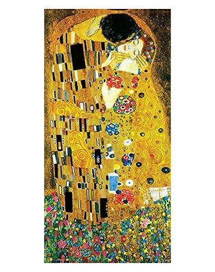 The Kiss by Gustave Klimt - Fine-Art Print Poster