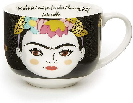 Kikkerland Frida Kahlo Mug