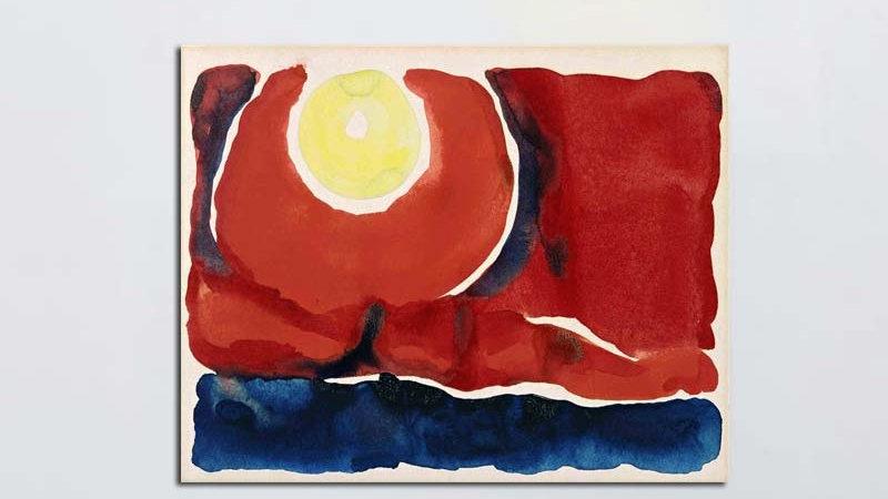 Evening Star (1917) by Georgia O'Keeffe
