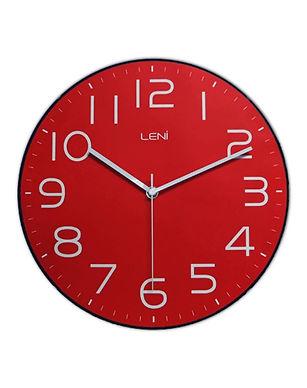 Leni Classic Wall Clock red