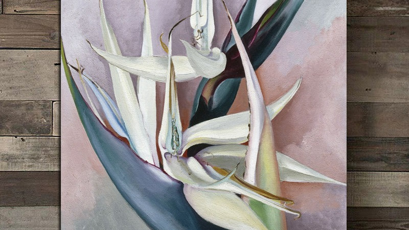 White Bird of Paradise by Georgia O'Keeffe