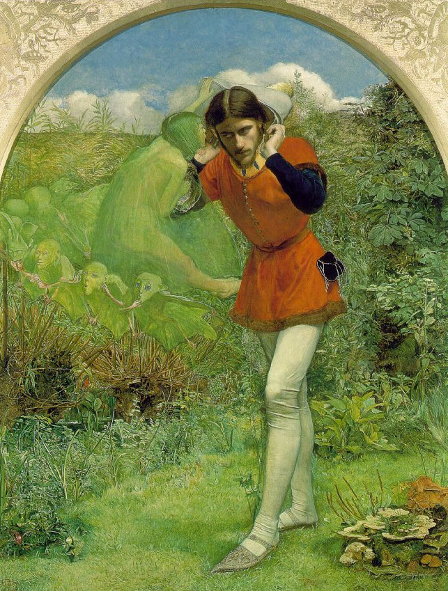 Ferdinand Lured by Ariel by John Everett MillaisFerdinand Lured by Ariel by John Everett Millais