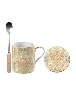 Fine China Mug Set - John Henry Dearle Hyacinth Print