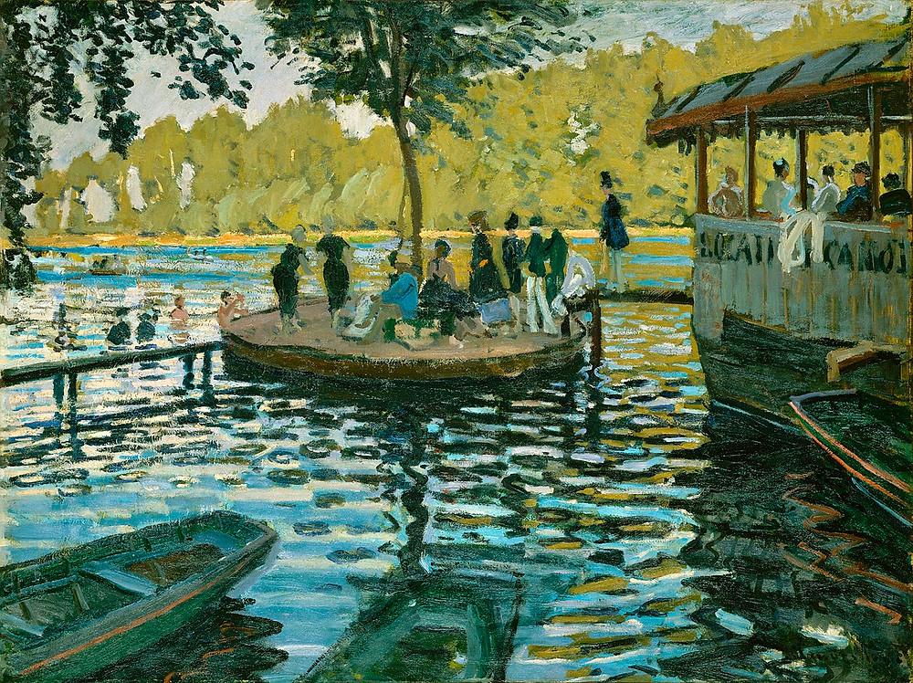 La Grenouillère by Claude Monet