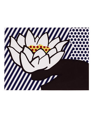 Lichtenstein Waterlily Print