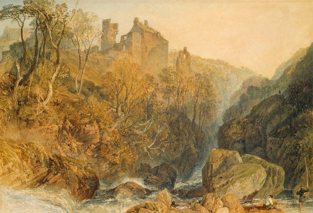 Rosslyn Castle - Joseph Mallord William Turner