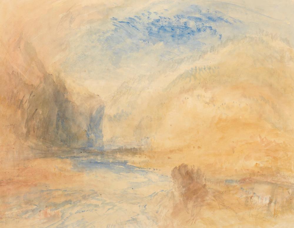 Vesuvius in Eruption - Joseph Mallord William Turner