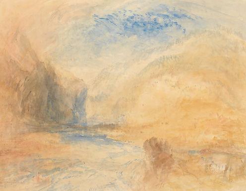 Joseph Mallord William Turner in Orange