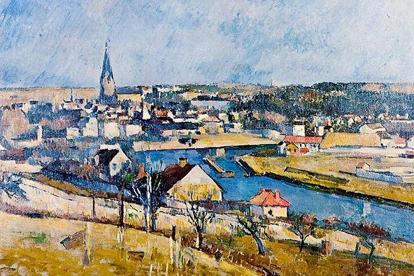 ILE De France Landscape Print Poster