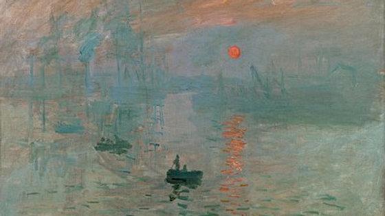 """Claude Monet """"Impression, Sunrise"""" Print"""