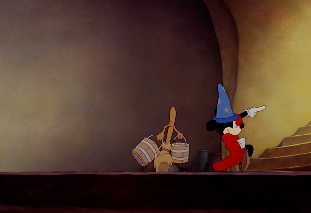 Screenshot of Trailer of Fantasia 1940