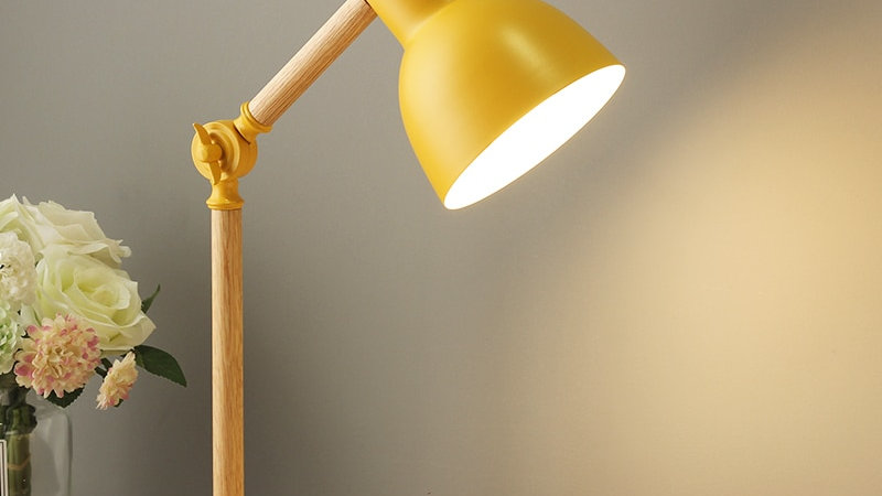 Modern Nordic Table Lamp in the Anglepoise Style
