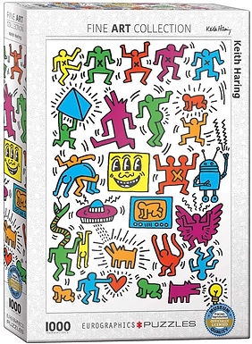 Keith Haring EuroGraphics 1000 Piece Puzzle