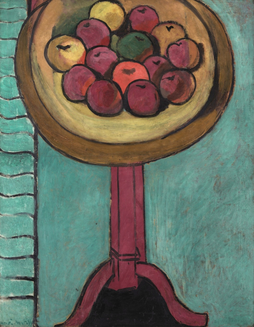 Bowl of Apple on Table by Matisse
