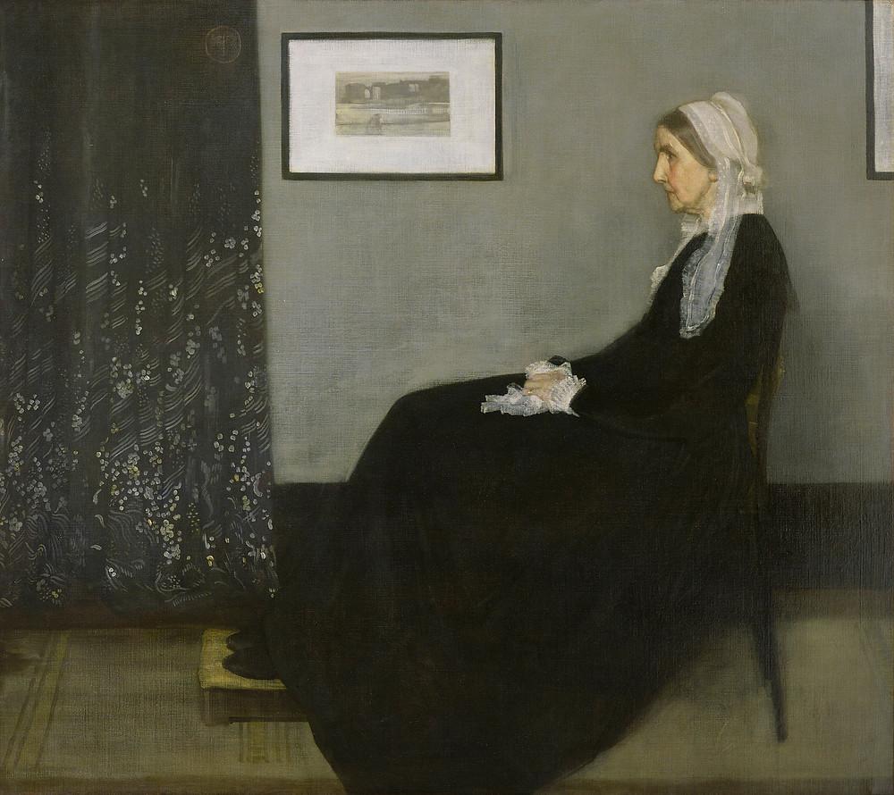 Anna McNeill Whistler - by James Abbott McNeill Whistler