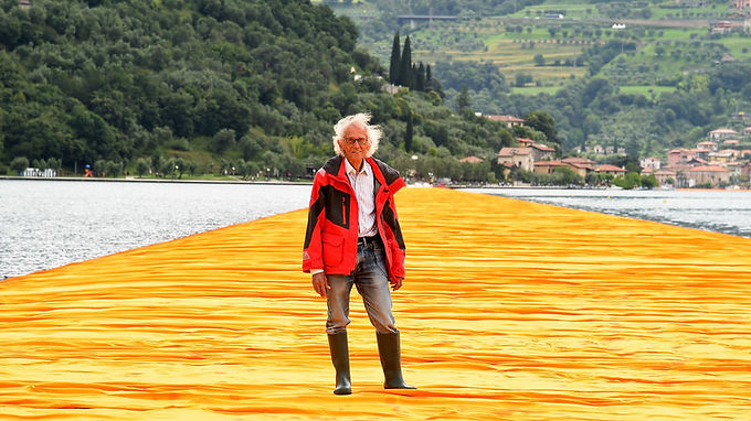 Christo, Famous For His Monumental Works Of Art, Dies At 84