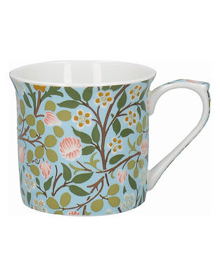 Fine Bone China Coffee Cup John Henry Dearle Clover Pattern