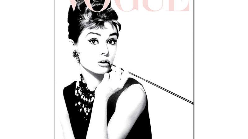Vogue Fashion Poster Audrey Hepburn Canvas Painting