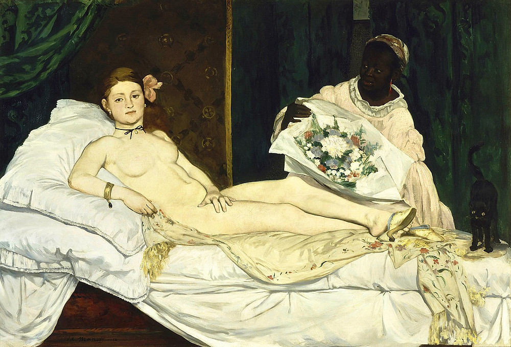 Olympia, 1863 by Eduard Manet