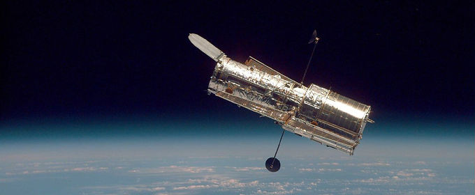 Big Hubble Telescope Deployed on 25th April 1990
