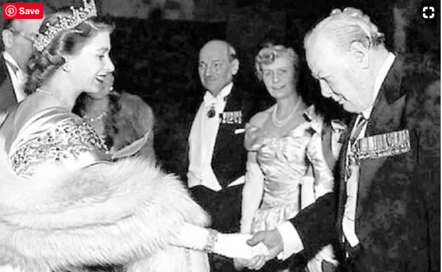 Winston Churchill Received a Knighthood