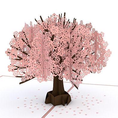 Cherry Blossom Pop-Up Card