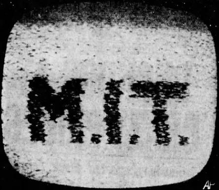 First Transmission of Television Image via Satellite