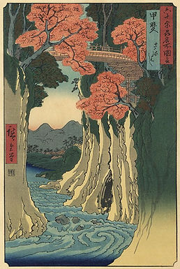 Ukiyo-e, Pictures of the floating world