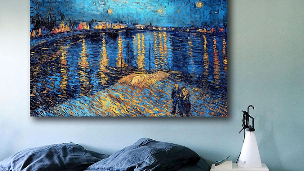 Starry Night Over the Rhone by Van Gogh I