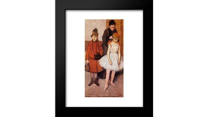 Mante Family by Edgar Degas (1884) Framed Art print