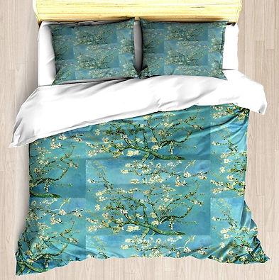 Almond Blossoms Duvet Cover Set