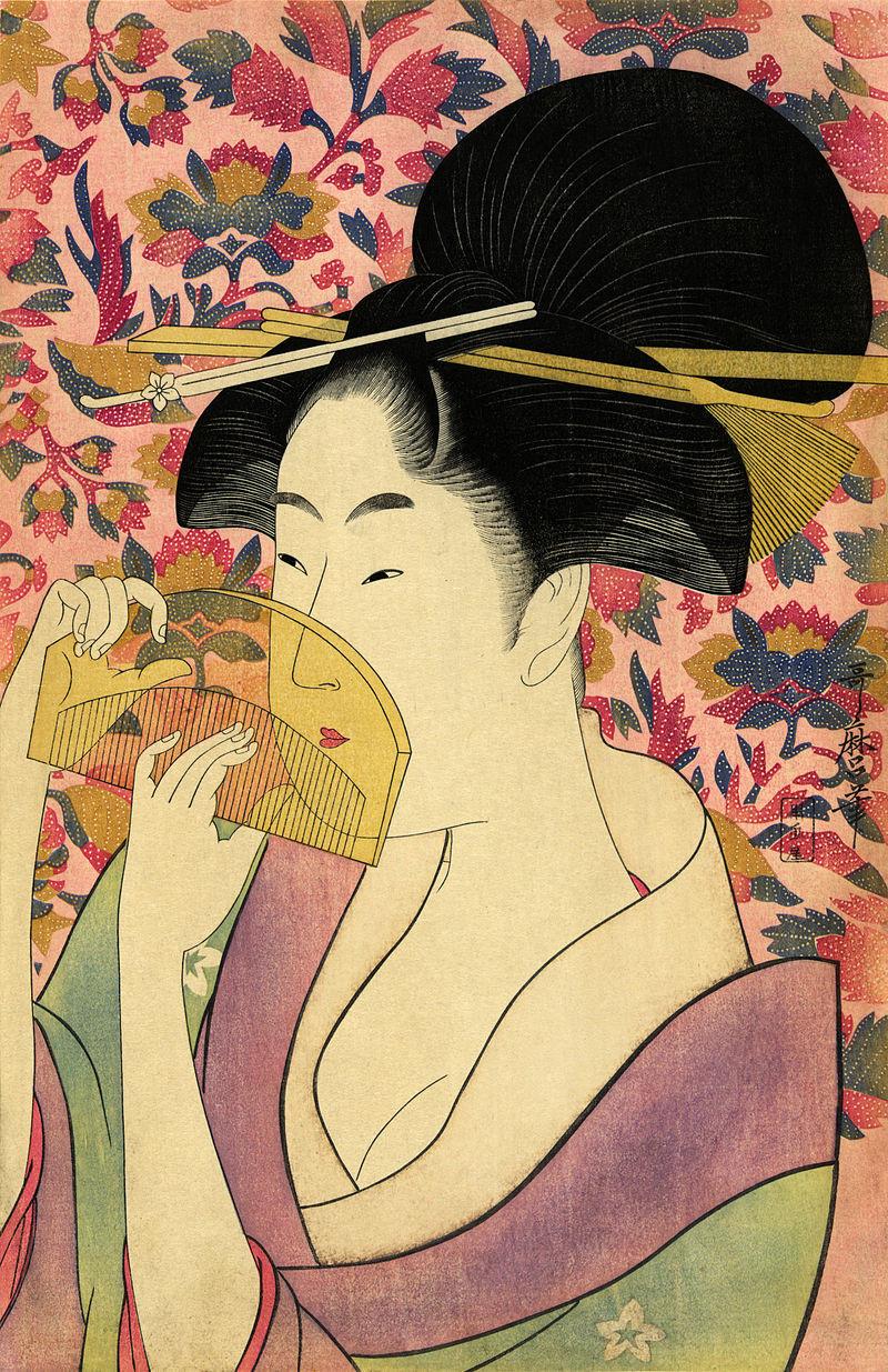 A woodcut entitled Kushi