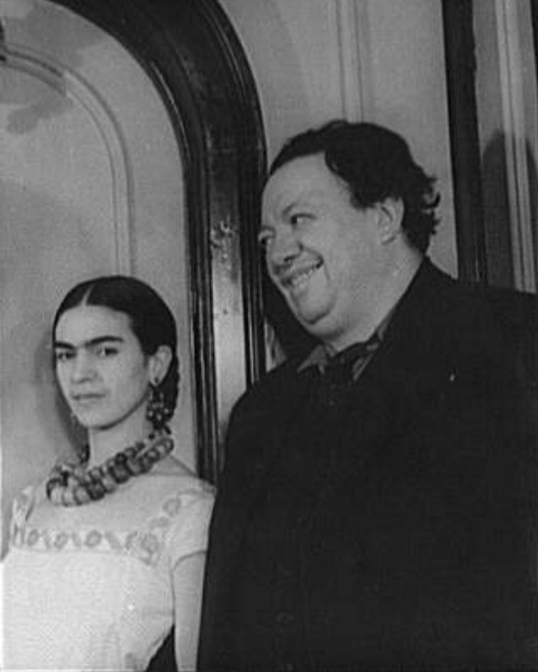 Portrait of Diego Rivera and Frida (Kahlo) Rivera