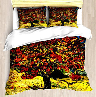 Van Gogh Mulberry Tree Duvet Cover Set