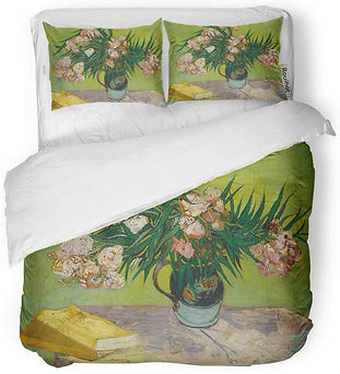 Van Gogh Oleanders Duvet Bedding Set