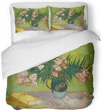 Van Gogh Oleanders Duvet Bedding Set