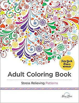 Adult Colouring Book: Stress Relieving Patterns