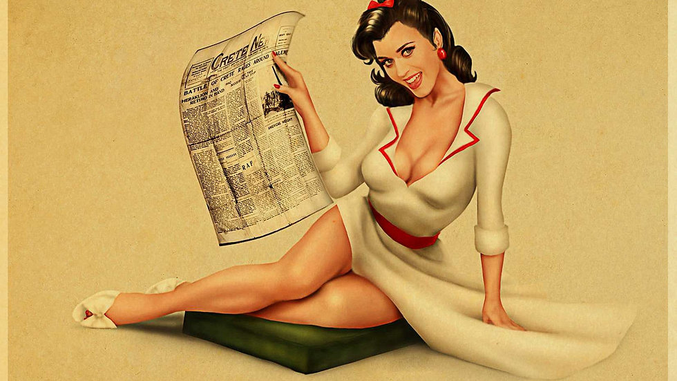 Assorted World War 2 Pinup Posters