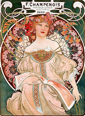 Art Nouveau Influenced Modern Artists