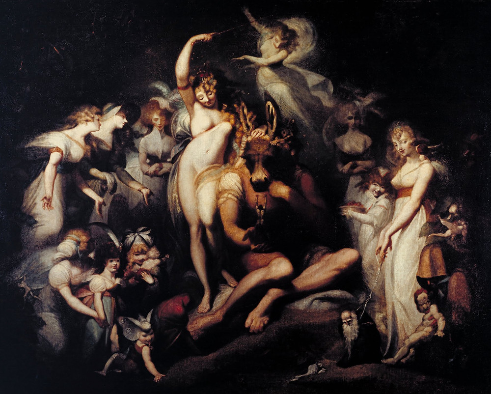 Titania and Bottom - Henry Fuseli