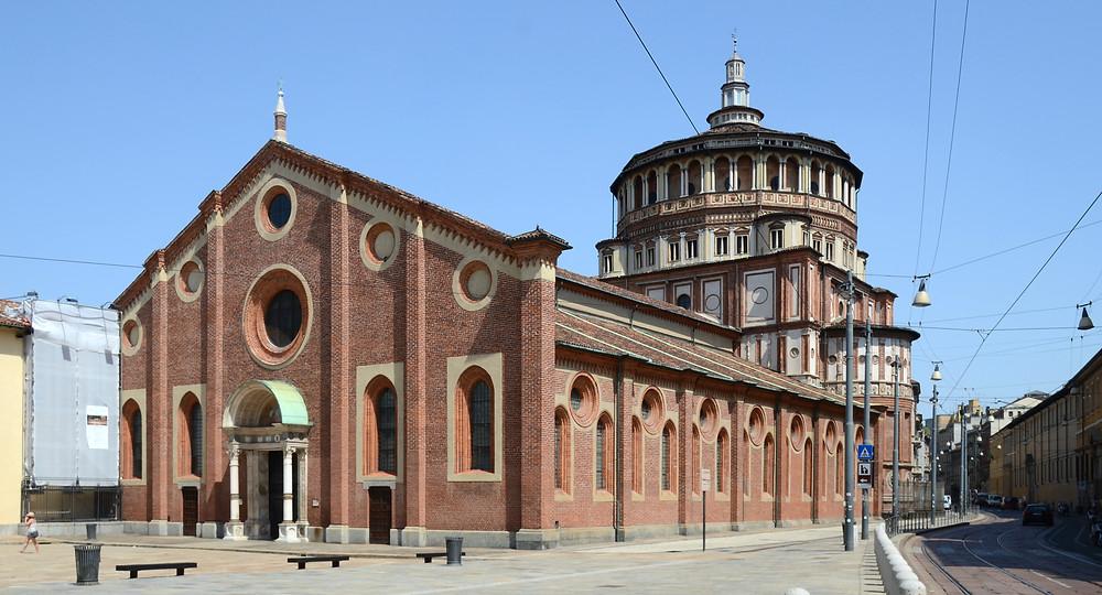 Santa Maria Delle Grazia monastery in Milan