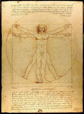 The secrets of the Vitruvian Man